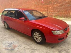 2007 Holden Commodore VZ@VE Acclaim Red 4 Speed Automatic Wagon Campbelltown Campbelltown Area Preview