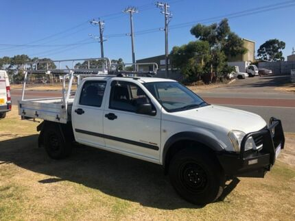 2003 Holden Rodeo RA LT (4x4) White 5 Speed Manual Crew Cab Pickup Wangara Wanneroo Area Preview
