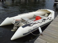15 ft inflatable boat