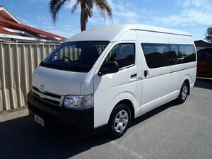 2013 Toyota Hiace KDH223R MY12 Upgrade Commuter White 5 Speed Manual Bus Albert Park Charles Sturt Area Preview