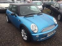 2005 MINI HATCHBACK 1.6 Cooper 12 MONTHS WARRANTY and MOT AVAILABLE