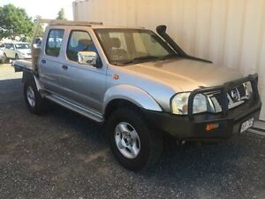 2006 Nissan Navara D22 S2 ST-R Silver Manual Utility Gaven Gold Coast City Preview