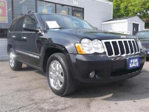 2010 JEEP GRAND CHEROKEE LIMITED * 4X4 * LEATHER * SUNROOF *