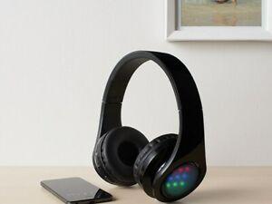 Casque d'écoute sans fil illuminé Version Bluetooth