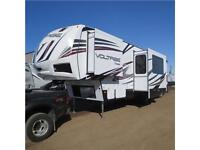 2014 and 2015 Travel Trailers and Fifth Wheels, Toy haulers.