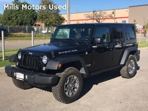 2017 Jeep Wrangler Unlimited Rubicon 4 Door 4WD Automatic LOW KM