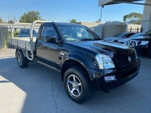 2006 Holden Rodeo Black Manual Cab Chassis Vermont Whitehorse Area Preview