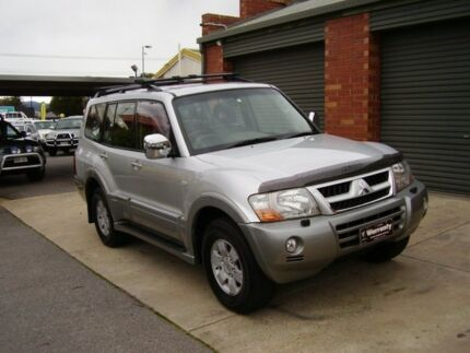 2003 Mitsubishi Pajero NP Exceed LWB (4x4) Silver 5 Speed Auto Sports Mode Wagon Holden Hill Tea Tree Gully Area Preview