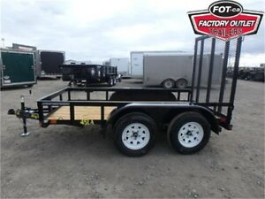 5 X 12 Tandem Axle Utility Trailer by Big Tex -*TAX IN PRICE*-