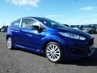 Ford Fiesta ZETEC S (blue) 2015-04-27