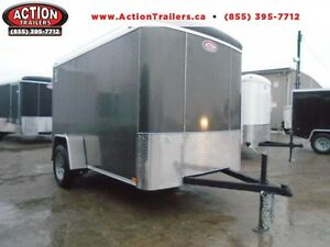 CHEAPEST ENCLOSED 6X10 CARGO TRAILER W/ALL THE UPGRADES