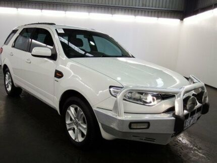 2012 Ford Territory SZ TX (4x4) White 6 Speed Automatic Wagon Albion Brimbank Area Preview