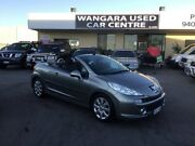 2007 Peugeot 207 CC 1.6 Grey 5 Speed Manual Cabriolet Wangara Wanneroo Area Preview