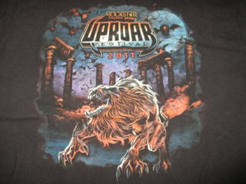 2011 UPROAR Festival Concert Tour XL Shirt BULLET FOR MY VALENTINE KORN SEETHER