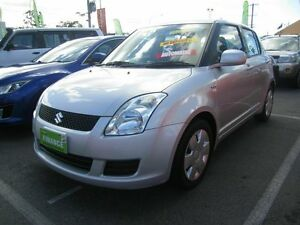 2007 Suzuki Swift EZ 07 Update Silver 4 Speed Automatic Hatchback Capalaba Brisbane South East Preview