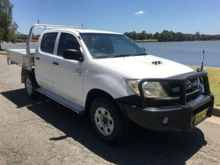 2011 TOYOTA HILUX SR 4X4 TURBO DIESEL Five Dock Canada Bay Area Preview