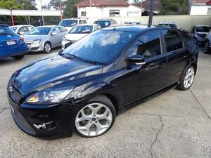 2010 Ford Focus LV XR5 Turbo Black 6 Speed Manual Hatchback Sylvania Sutherland Area Preview