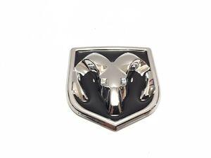 1 Pcs, Dodge, Med Emblem, 60 X 65 MM, Black Chrome ,Hood, Fender Badge, Tailgate