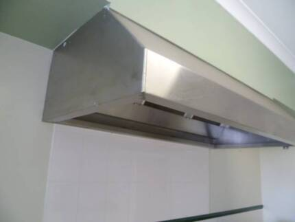 RANGE HOOD COMMERICAL EXHAUST STAINLESS STEEL 1775x900x450mm Emerald Cardinia Area Preview