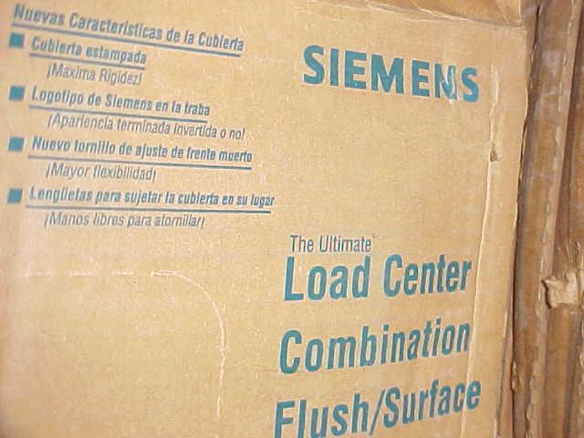 * SIEMENS COMBINATION FLUSH/SURFACE MOUNT PANEL COVER PC-08