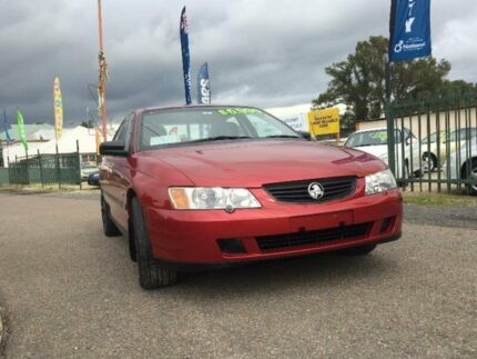 2004 Holden Commodore VY II Executive Red 4 Speed Automatic Sedan