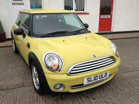 2010 10 MINI HATCH ONE 1.6 ONE 3D 98 BHP
