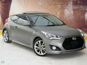 2016 Hyundai Veloster FS4 Series II SR Coupe Turbo Grey 6 Speed Manual Hatchback Collingwood Yarra Area Preview