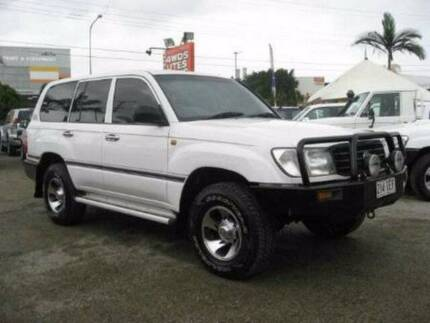 1998 Toyota LandCruiser Wagon West Mackay Mackay City Preview