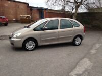 2006 CITROEN PICASSO 1.6 MPV - 11 months M.O.T - ONE PREVIOUS OWNER - VERY GOOD CHEAP CAR