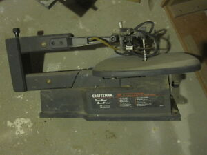 "Sears Craftsman 16"" variable speed scroll saw Peterborough Peterborough Area image 1"