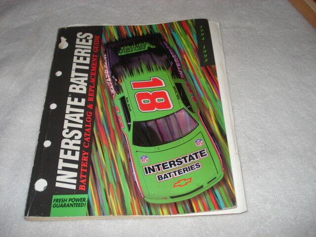 INTERSTATE BATTERY CATALOG 1994-95
