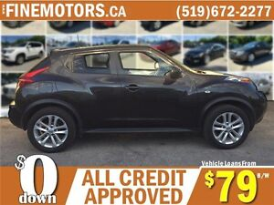 2011 NISSAN JUKE SV AWD * CAR LOANS FOR ALL CREDIT FROM $79 b/w London Ontario image 3