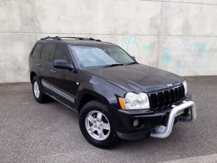 2007 Jeep Grand Cherokee WH MY2007 Laredo Black 5 Speed Automatic Wagon