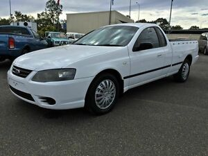 2007 Ford Falcon BF Mk2 XL  White Automatic Utility Wacol Brisbane South West Preview