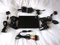 Sony PS2 Slim Black Console