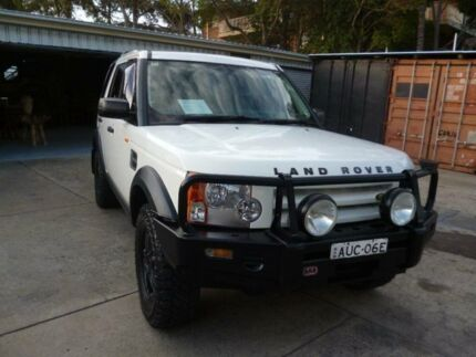 2005 Land Rover Discovery 3 S White 6 Speed Automatic Wagon Holroyd Parramatta Area Preview