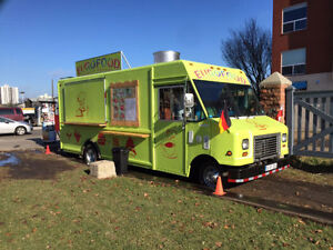 Newly built food truck REDUCED FOR QUICK SALE