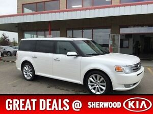 2011 Ford Flex AWD LIMITED Leather,  Heated Seats,  3rd Row,  Ba