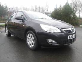 Vauxhall Astra 1.7 CDTi ecoFLEX 16v Exclusiv 5dr Good / Bad Credit Car Finance (black) 2010