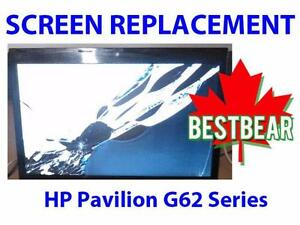 Screen Replacment for HP Pavilion G62 Series Laptop