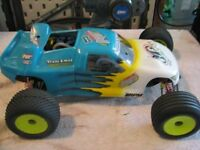 RC Parts Lot and losi nitro rtr
