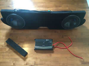 "02-16 DODGE RAM - Custom dual 12"" fiberglass sub box -"