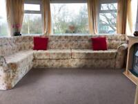 3bed double glazed caravan reduced for quick sale on 12 month park