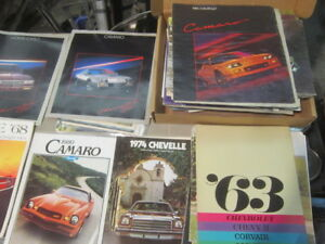 Classic Chevy Dealer COLLECTION OF SALES BrochureS $10.00