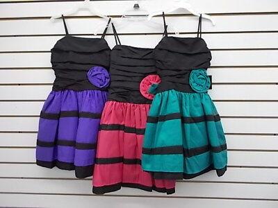 Girls Jessica McClintck Assorted Colors Dresses Size 7 - 16 (Girls Dresses 7 16)