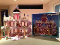 Château de princesse Playmobil et beaucoup d'autres playmobils
