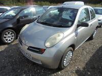 Nissan Micra E (silver) 2003