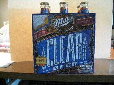 Vintage Miller 'Clear Beer' and Coors 'baseball bat' bottles
