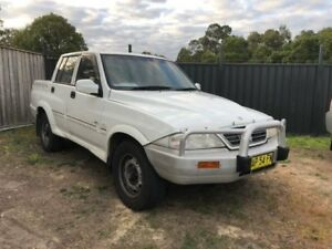2006 Ssangyong Musso Sports Manual Utility Edgeworth Lake Macquarie Area Preview