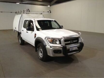 2011 Ford Ranger PK XL (4x4) White 5 Speed Manual Dual Cab Chassis Bibra Lake Cockburn Area Preview